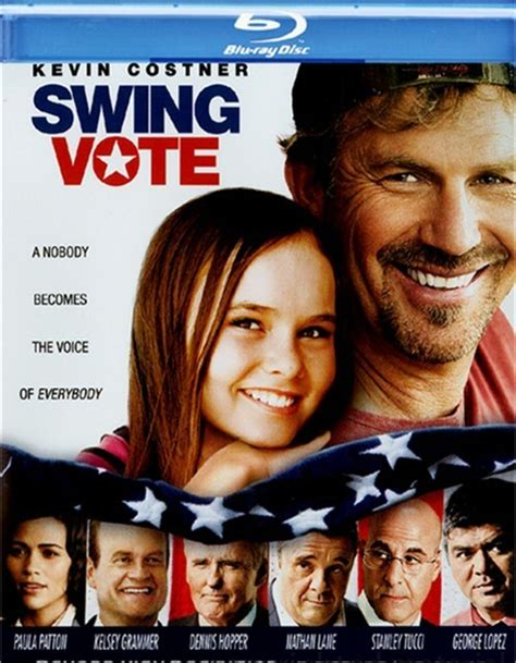vote swing swing vote blu ray 2008 dvd empire