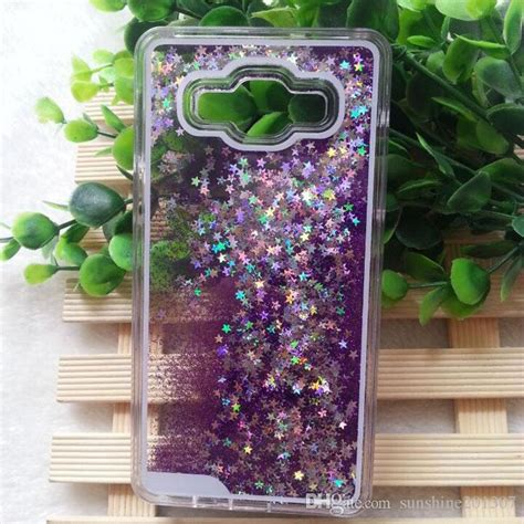 Glitter Flowing Water Liquid Phone For Samsung new glitter flowing water liquid cover for