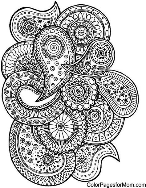 coloring pages for adults paisley 25 best ideas about paisley coloring pages on