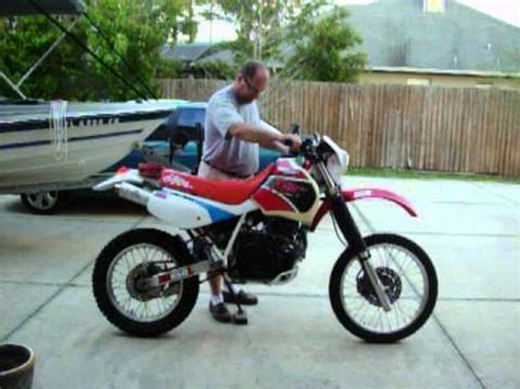 1993 Honda XR650L   Part 1   YouTube