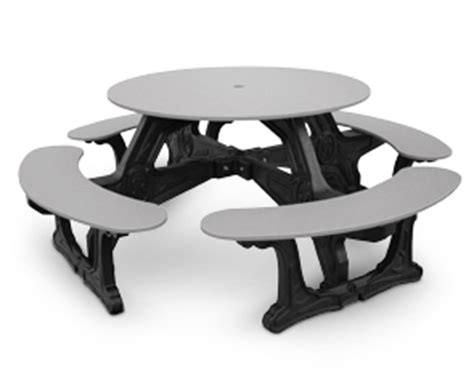 belson outdoors picnic tables cantina outdoor tables recycled plastic picnic tables