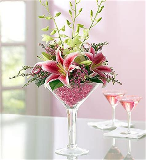 Cheap Martini Vases Martini Glass Flowers Awesome Floral Arrangement