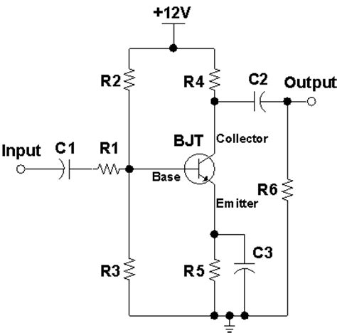 what is coupling capacitor in an lifier bjt lab