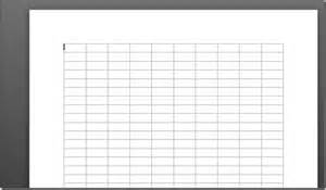 change gridlines height width in word 2010