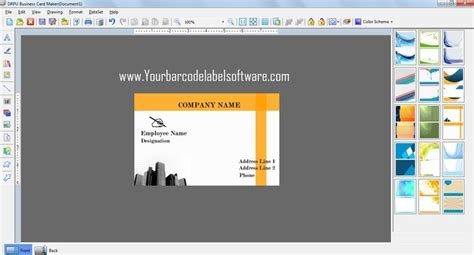 free program to make business cards free business card design software free and review