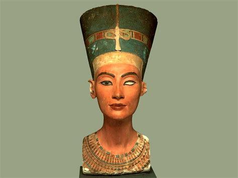 imagenes egipcias nefertiti busto de nefertiti