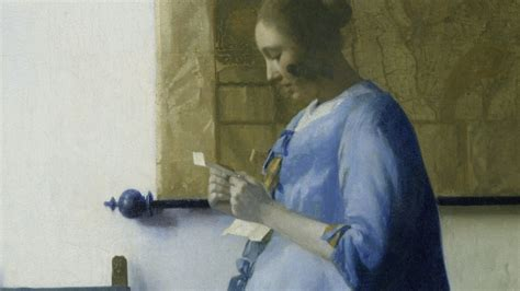 vermeer biography book vermeer s woman in blue brings her mystery allure to l
