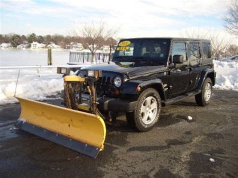Jeep With Snow Plow For Sale Jeep Plow Mitula Cars