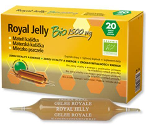 Gelee Royal Jelly Bio 1500mg   Gelee Royal   Kräuterwunder Royal Jelly Wirkung