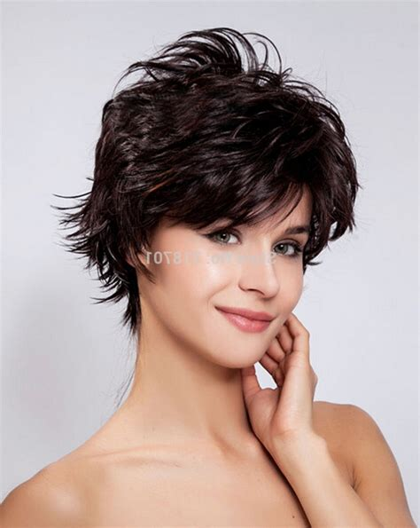 highlighting short hair styles short dark brown hair with highlights pictures