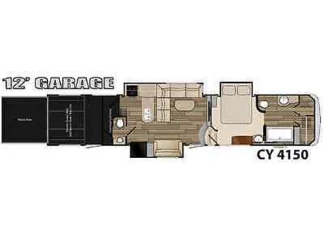cyclone toy hauler floor plans clearance 2015 cyclone 4150 triple slide fifth wheel toy