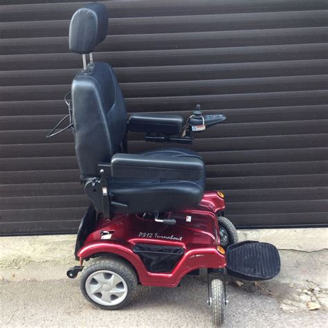 Rascal Power Chair by Rascal P312 Turnabout With Seatlift Powerchair