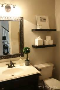 Powder Bathroom Ideas Crazy Wonderful Quick Powder Room Makeover