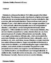 Essay On Diabetes by Research Paper About Diabetes Dailynewsreport970 Web Fc2