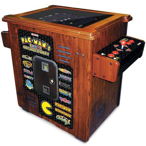 Pacman Table by The 30th Anniversary Authentic Pac Arcade Cocktail
