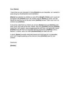 character reference letter template for child custody free