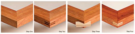 degree in woodworking wood table with 45 degree corner groove home