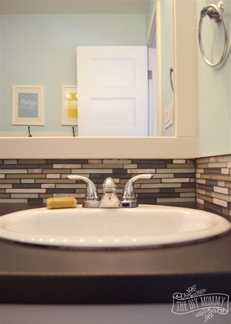 How To Put Up Backsplash In Bathroom by Kids Bathroom Reveal And Some Great Tips For Post Reno