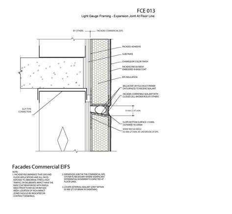 eifs wall section eifs exterior insulation and finishing system eifs details