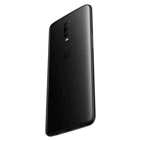 black mirror leak oneplus 6 mirror black finish and related press images