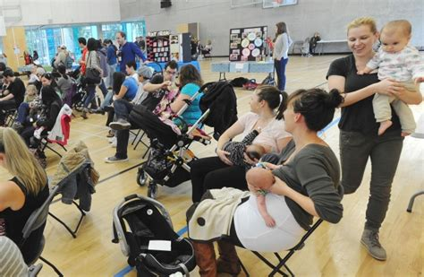 World Record For With The Most Births Photos 60 Vancouver Babies Breastfed At Once