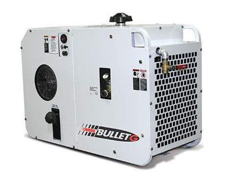 bullet g 70cfm gas powered rotary air compressor