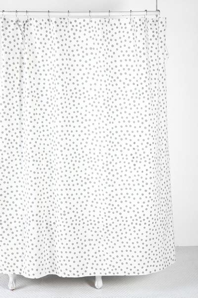 Polka Dot Shower Curtain   Decor by Color
