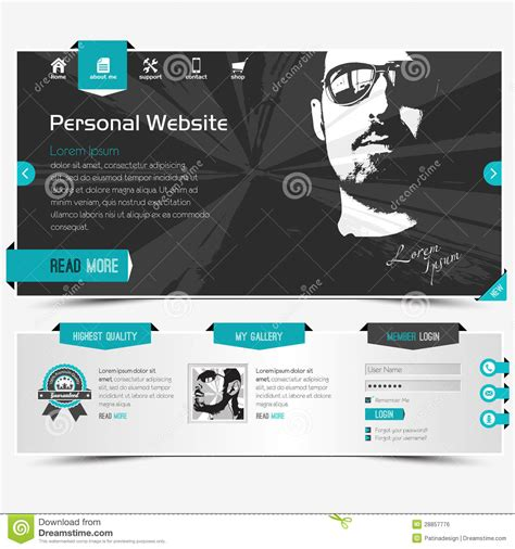 Website Template Royalty Free Stock Image Image 28857776 Copyright Free Website Templates