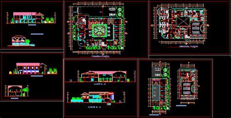 Concrete Block Floor Plans Hospital 2d Dwg Full Project For Autocad Designs Cad