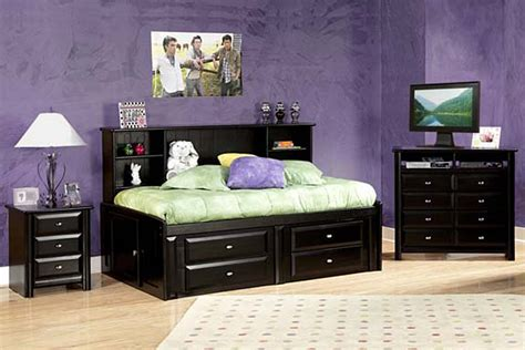 Gardner White Bedroom Sets Decor - laguna black roomsaver bed at gardner white