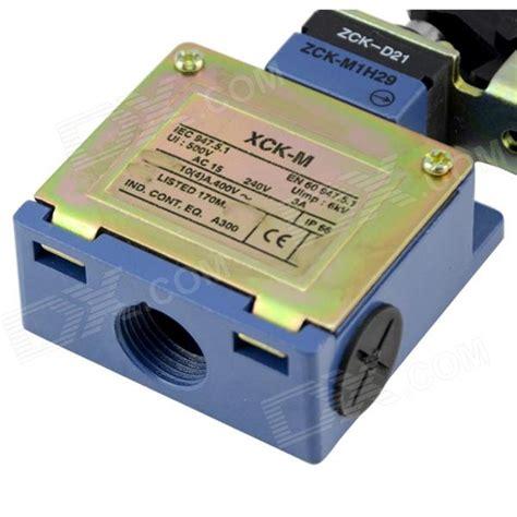 Limit Switch Xck M121 xck m121 waterproof ac 240v 3a limit travel switch blue golden free shipping dealextreme