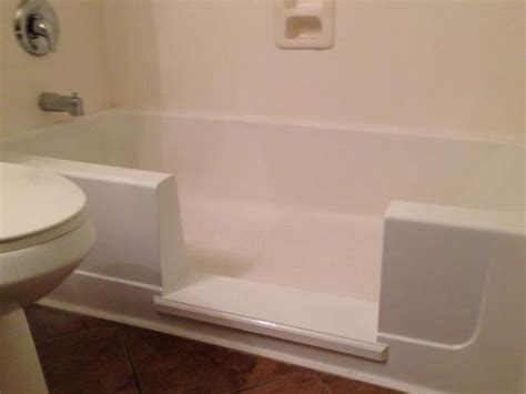 shower conversion kit for bathtub e z step tub to shower conversion senior safetypro