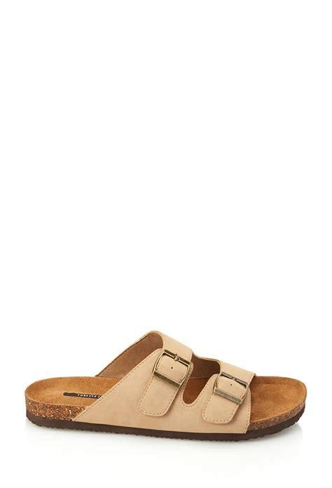 faux birkenstock sandals buckled faux suede sandals forever21 summerforever