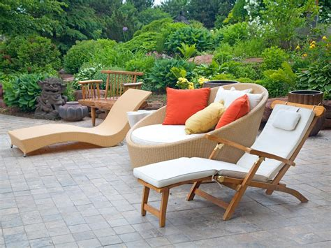 Outdoors Patio Furniture with Modern Outdoor Furniture Hgtv