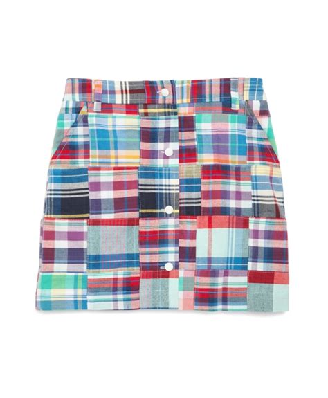 Patchwork Madras - patchwork madras skirt brothers