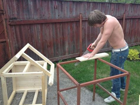 how to build a dog house with a porch how to build a dog house detailed direction