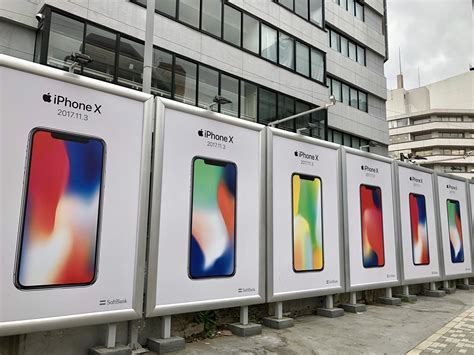 apple japan iphone x kgi apple will have just three million iphone x units