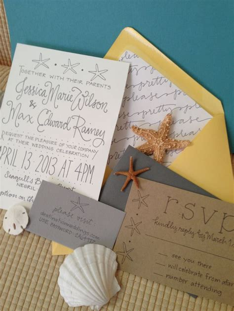 2824 best Beach Wedding Invitations images on Pinterest