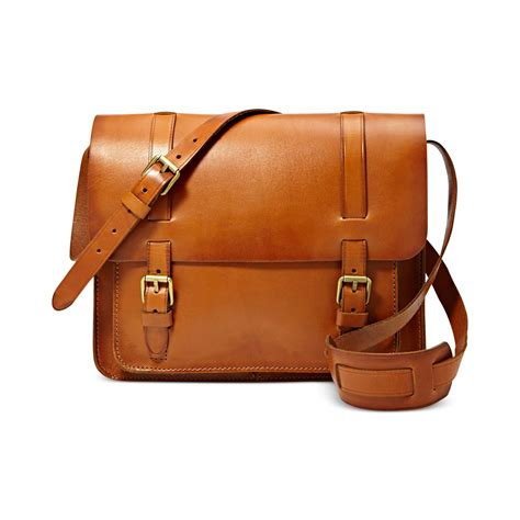 Fossil Bag Ori 1 lyst fossil vintage archive messenger bag in brown for