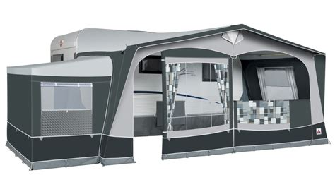 Caravan And Awning by Dorema Caravan Awning
