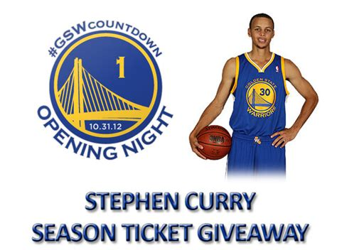 Warriors Tickets Giveaway - stephen curry season ticket giveaway the official site of the golden state warriors