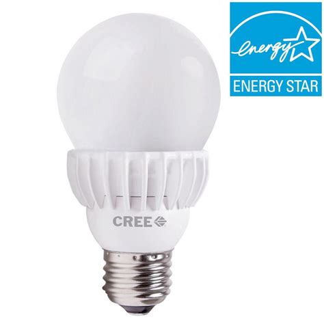 led light bulb for home cree 75w equivalent soft white a19 dimmable led light bulb