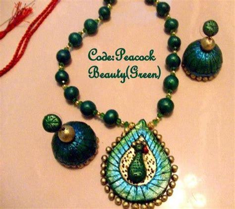 Bead Jewelry Making Classes - handmade terracotta jewelry designs by mayoora jewels