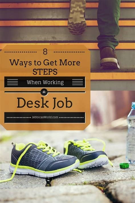 8 Ways To Be More Affectionate by 8 Ways To Get More Steps If You Work A Desk Fitbit
