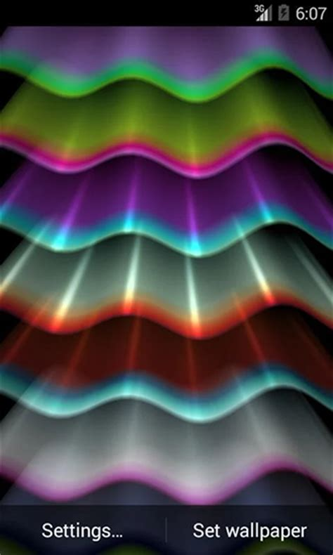 light wave  wallpaper  android light wave