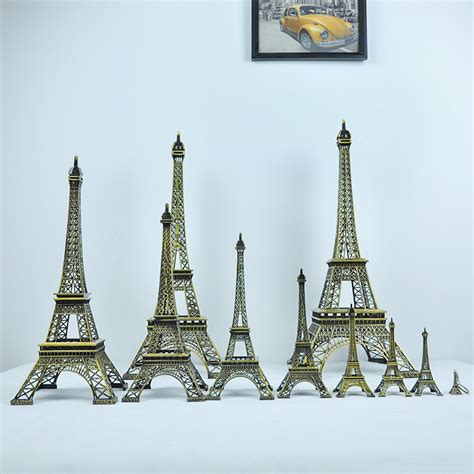 eiffel tower home decor paris eiffel tower display craft mini dollhouse home decor