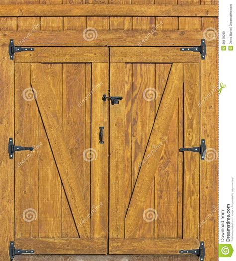Hinged Barn Doors Barn Door Background Rural Building Plank Doors Black Hinges Would Barn Doors