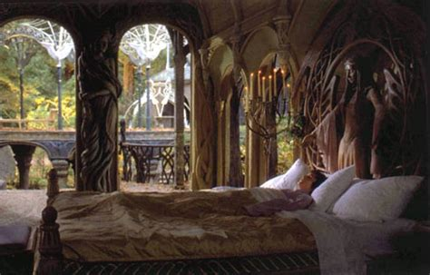frodos rivendell chamber middle earth decor