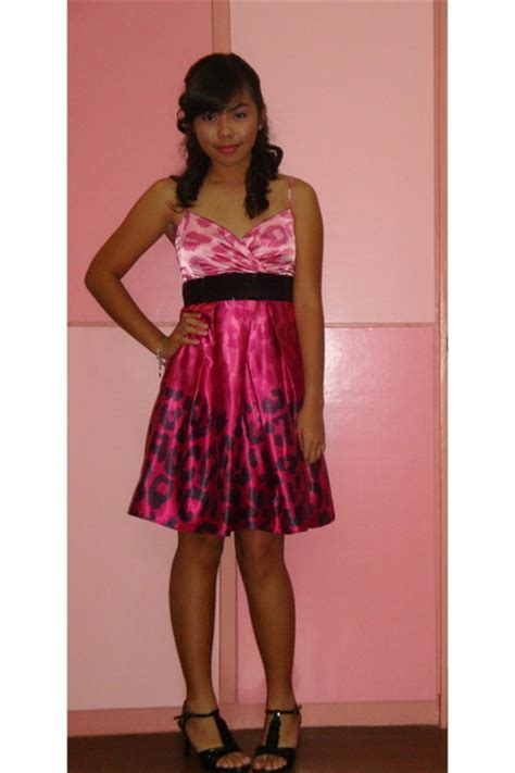 pink dresses black shoes quot prom 10 a in