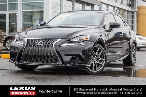 used lexus is 250 f sport used 2015 lexus is 250 awd f sport super propre for